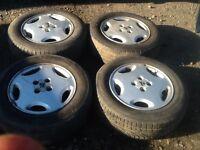 "Vauxhall cavalier Gsi 15"" 4x100!alloy wheels"