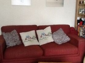 PAIR OF SOFAs reduced to £30
