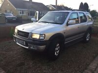 Vauxhall frontera 3.2 V6 Limited petrol/LPG automatic 4x4 off road