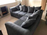 Brand new Liverpool jumbo cord corner or 3+2 seater sofa set in stock