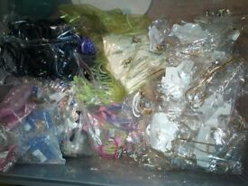 JEWELLERY MAKING BEAD SUPPLIES, PLUS JEWELLERY PIECES - IDEAL FOR START UP BUSINESS