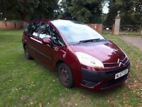 CITROEN C4 PICASSO 1.8 PETROL 7 SEATER. MOT END SEPT CHEAP AT £575 IN KETTERING.