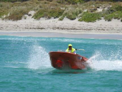 NEW POWERCAT DINGHY by FINN  SAFE AND STABLE