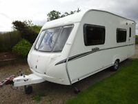 Abbey Vogue 540, 2007 model, 6 berth. Newly valeted.