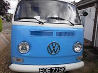 Attractive, reliable VW T2 Bay Camper Good Condition