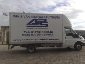 APS Removals and Clearances - man with van Plymouth and registered waste carrier