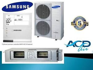 Samsung 14KW ducted Split Air Conditioner Supply & Install AC140HBHFKH + 2 Zones