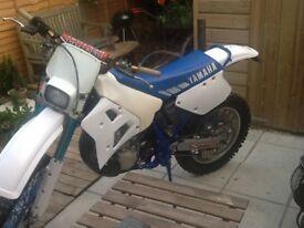 1990 road registered Yamaha YZ250WR
