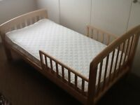 john lewis anna toddler bed perfect condition hardly used
