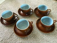 Vintage Cups and Saucers - Denby Homestead