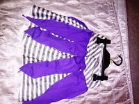Home made girls fancy dress pirate skirt and bandana