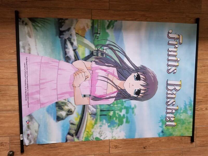 OFFICIAL Fruits Basket Silk/Cloth Poster HUGE