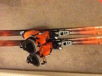 SKI TOUR EQUIPMENT ATOMIC R9 170cm Fritshi bindings Scarpa Lasers boots Skins & Harsch