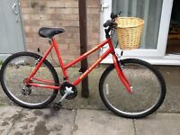 Raleigh sunrise shopping bike £45 can deliver for petrol