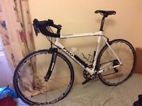 Pro-Lite Cuneo Carbon+Alum Road racing bike (Bicycle), SRAM Rival group, 57cm frame + accessories