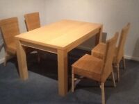 Dining Table and Chairs For Sale.