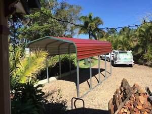 W6 Cyclonic Transportable Shade Shed Emerald Central Highlands Preview