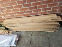 Quantity of Oak Effect Laminate Flooring