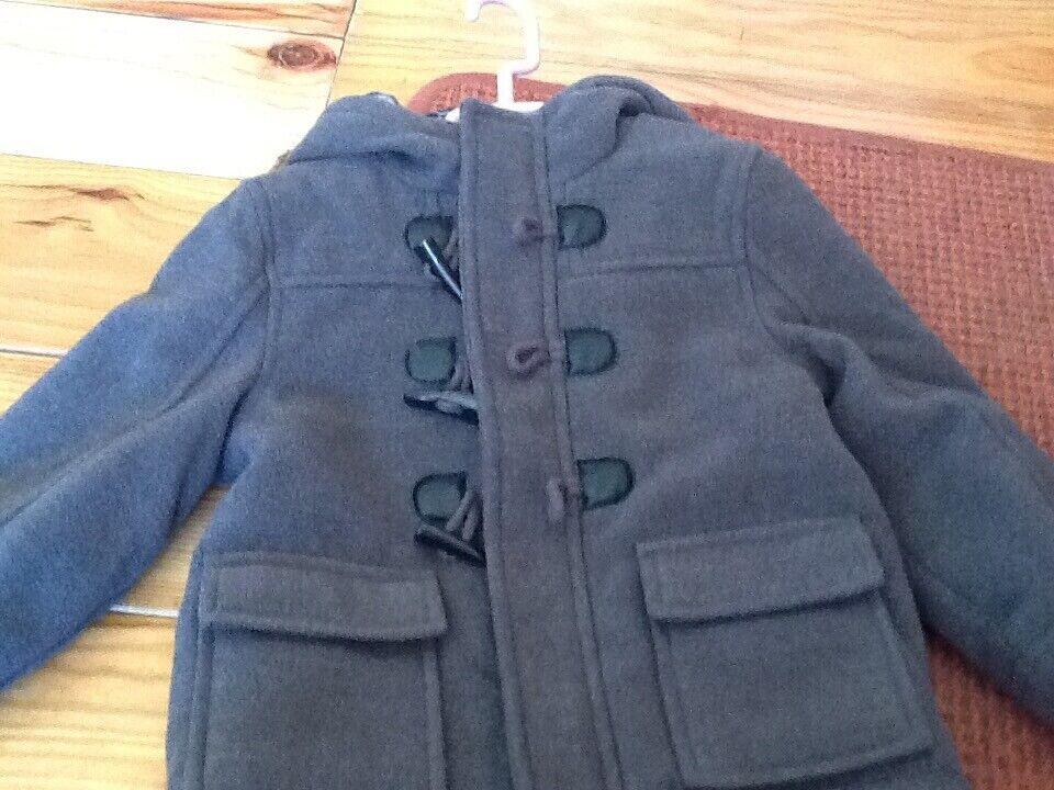 0d36523aa876 Boys duffle coat size 18-24 months brand new.