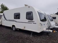 2014 Bailey Orion 530/6 6 Berth caravan FIXED BED, MOTOR MOVER AWNING, BARGAIN !