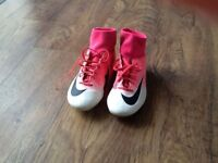 Nike mercurial sock football boots