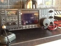 Icom ic-756 & PSU boxed.