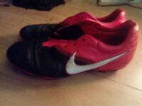 Nike Football /Rugby boots. Size 9