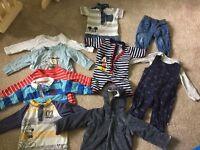 Baby boy clothes bundle, 3-6 months