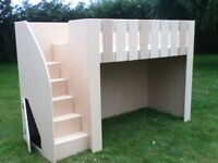 BUNK BED FREE DELIVERY IN UK £199 AL 18MM SOLID AND SAFE