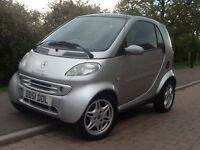SMART MERCEDES FORTWO PASSION SOFTOUCH Service History,Low Miles,Custom Graphics,Alloy Wheels