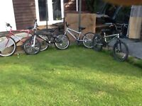 Selection of boys bikes , from £10.00