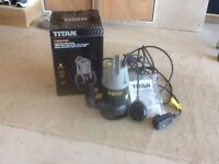 Submersible Water Pump X 2 - Used in single house self build only - back in box