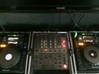 X2 Pioneer CDJ 900 + DJM 600 mixer