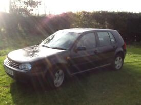 CHEAP 1.6 AUTO GOLF - NEW BRAKES ALL ROUND - DRIVES SUPERB. YEARS MOT