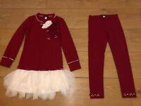 4 X GIRLS CLOTHES 5-6 + 6-7 YEARS JOBLOT KATE MACK SET , MY LITTLE PONY ,UNICORN