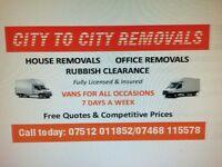 Removals/rubbish removals