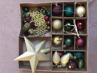 Free Christmas tree decorations