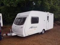 2010 Lunar Quasar 462 2 berth caravan MOTOR MOVER FITTED Awning, VGC Bargain !