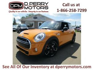 2015 Mini Cooper Hardtop Cooper S | 6 spd | Navigation | Bluetoo