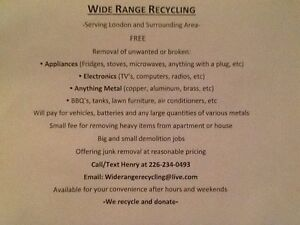 Garbage, junk, scrap removal