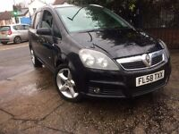 VAUXHALL ZAFIRA DIESEL 7 SEATER REG 2008 SPARE OR REPAIR WONT START NEED RECOVERY 2 MOVE THE CAR