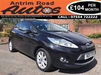 2011 FORD FIESTA 1.2 ZETEC ** FULL SERVICE HISTORY ** FINANCE AVAILABLE WITH NO DEPOSIT