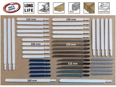Stichsägeblätter T- Schaft Bosch Aufnahme bis 180 mm extra lang für Holz Metall