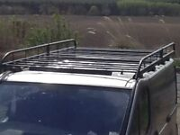 Roof rack to fit Renault traffic short wheel base van