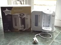 Tommee Tippee Closer to Nature Perfect Prep Machine - White. In original box