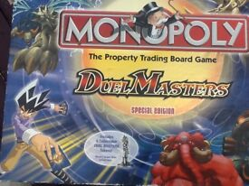 Duel Masters Collectable Monopoly board game