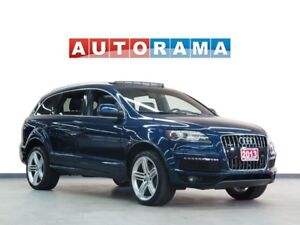 2013 Audi Q7 NAVIGATION LEATHER PAN SUNROOF 4WD 7 PASS