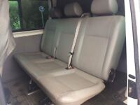Volkswagen transporter t5 kombi seats (leather)