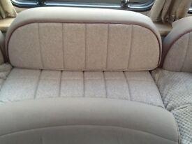 Elddis 860Caravan wrapp round seating