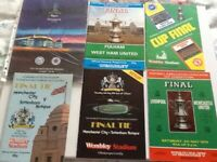 Yet more special final soccer programmes